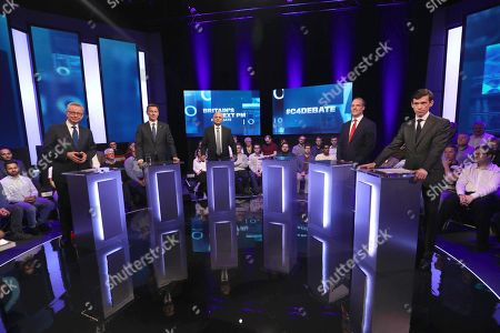 Editorial photo of 'Britain's Next PM' TV Show Channel 4 debate, London, UK - 16 Jun 2019