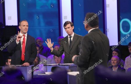 Editorial image of 'Britain's Next PM' TV Show Channel 4 debate, London, UK - 16 Jun 2019