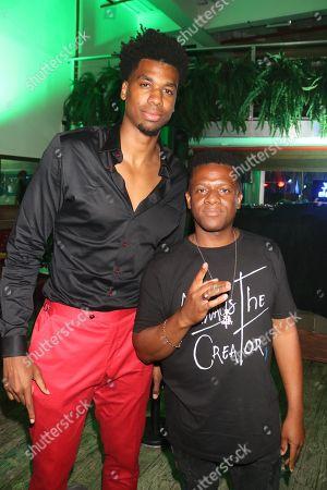 Hassan Whiteside and DJ Nasty