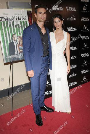 Theo Rossi and Emily Ratajkowski
