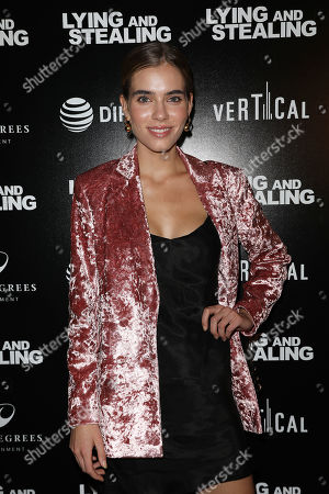 Editorial picture of Vertical Entertainment's New York Special Screening of 'Lying and Stealing', Arrivals, New York, USA - 17 Jun 2019