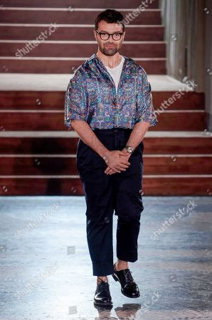 Editorial picture of Pal Zileri show, Runway, Spring Summer 2020, Milan Fashion Week Men's, Italy - 17 Jun 2019