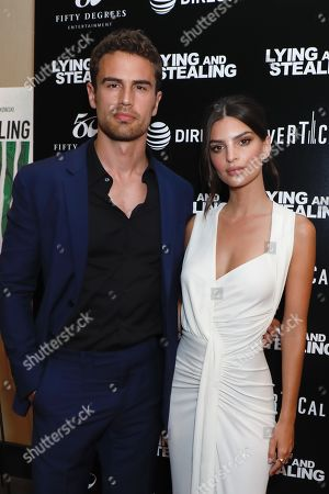 Theo James and Emily Ratajkowski