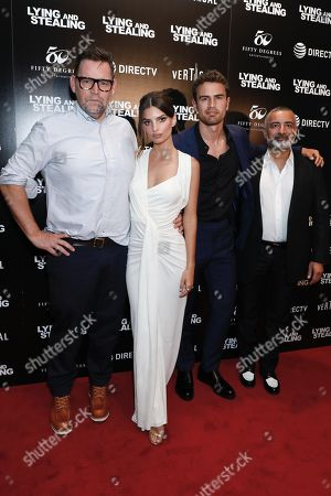 Matt Aselton (Writer, Director), Emily Ratajkowski, Theo James and Mohamed AlRafi (Producer)