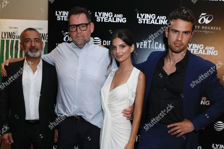 Mohamed AlRafi (Producer), Matt Aselton (Writer, Director), Emily Ratajkowski and Theo James