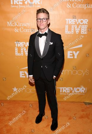 You Tuber Tyler Oakley attends The Trevor Project's TrevorLIVE New York gala at Cipriani Wall Street, in New York