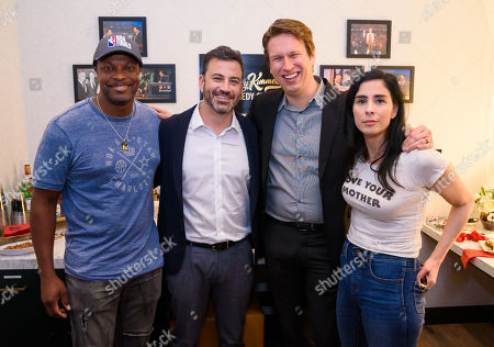 Chris Tucker, Jimmy Kimmel, Pete Holmes and Sarah Silverman