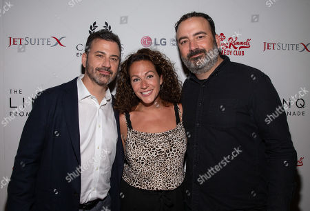Stock Photo of Jimmy Kimmel, Jill Kimmel and Jonathan Kimmel