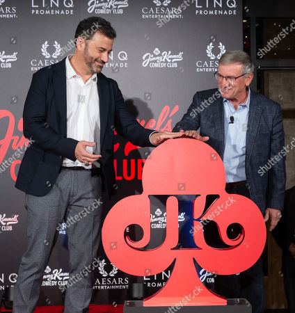 Editorial photo of 'Jimmy Kimmel's Comedy Club' official launch, Outside, The LINQ Promenade, LAs Vegas, USA - 15 Jun 2019