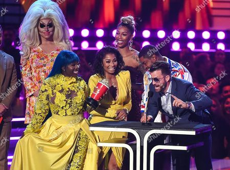 Bambi, Lil Scrappy, Spice and Karlie Redd - Reality Royalty Award - 'Love & Hip Hop Atlanta' - presented by Nick Kroll, Trixie Mattel and Johnny Devenanzio