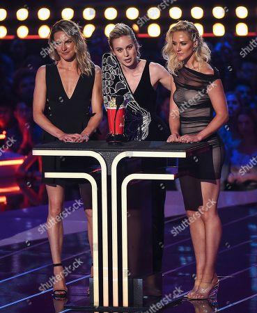 Brie Larson - Best Fight - 'Captain Marvel' - with Renae Moneymaker and Joanna Bennett