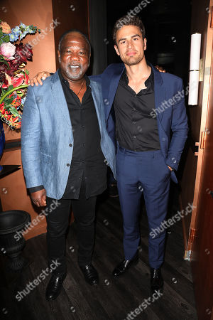 Isiah Whitlock Jr and Theo James