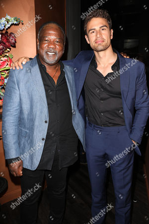 Stock Photo of Isiah Whitlock Jr and Theo James