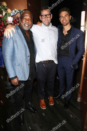 Isiah Whitlock Jr, Matt Aselton (Writer, Director) and Theo James