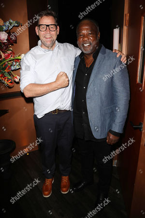 Stock Image of Matt Aselton (Writer, Director) and Isiah Whitlock Jr