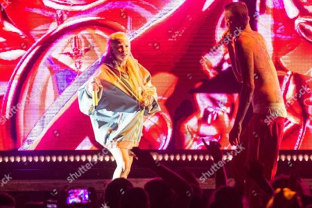 Editorial picture of Die Antwoord in concert, O2 Academy Brixton, London, England - 17 Jun 2019