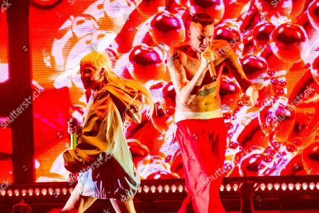 Editorial image of Die Antwoord in concert, O2 Academy Brixton, London, England - 17 Jun 2019