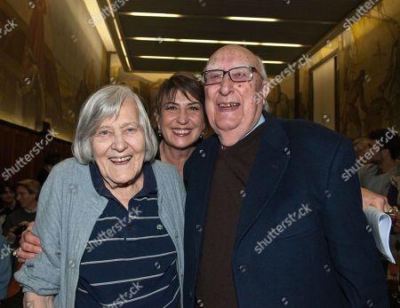 Margherita Hack, Serena Dandini and Andrea Camilleri