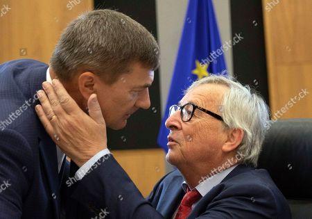 Editorial picture of EU Commission, Brussels, Belgium - 18 Jun 2019