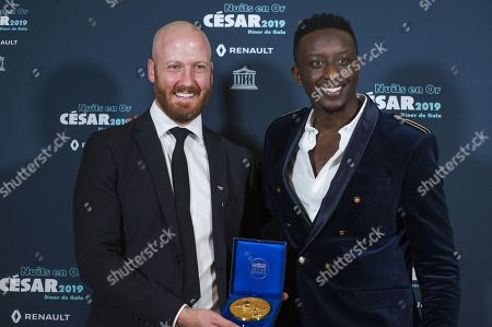 Bradley Slabe and Ahmed Sylla