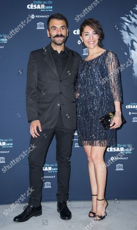 Stock Picture of Caterina Murino and Dimitris Gkotsis
