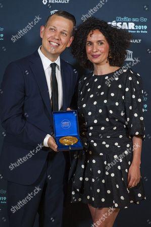 Magnus Leifsson and Amelle Chahbi