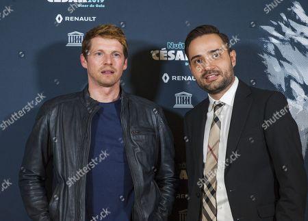 Pierre Deladonchamps and Alejandro Zuno