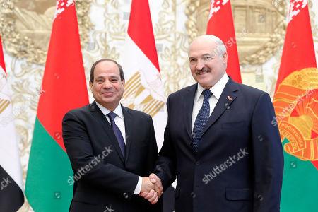 President of Egypt Abdel Fattah al-Sisi visit to Belarus