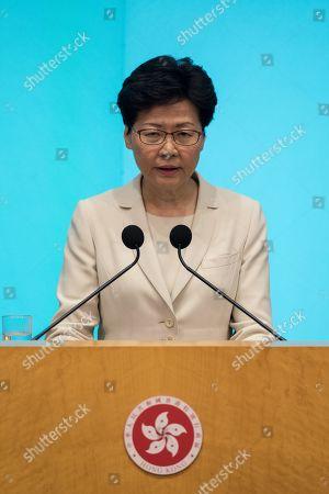 Hong Kong Chief Executive Carrie Lam press conference, Hong Kong