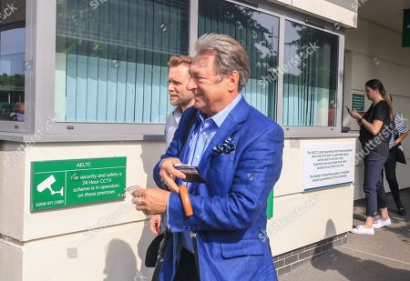 Alan Titchmarsh arives at the AELTC All England Lawn Tennis Club