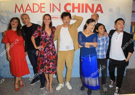 Frederic Chau, centre, Julie De Bona, Medi Sadoun, Steve Tran