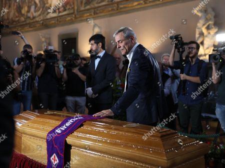The funeral of Franco Zeffirelli, Firenze