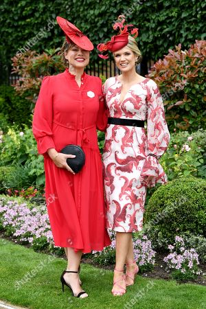 Kate Silverton and Charlotte Hawkins