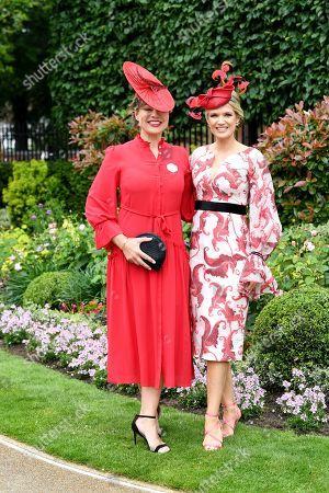 Kate Silverton and Charlotte Hawkins