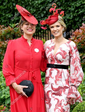 Stock Photo of Kate Silverton and Charlotte Hawkins