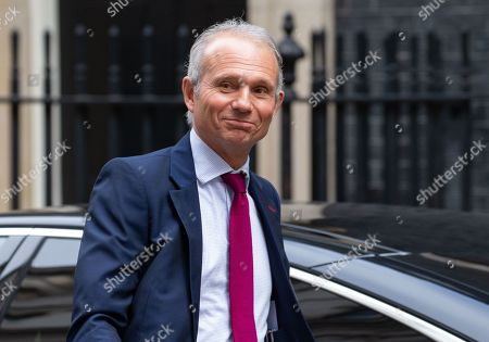 David Lidington, Chancellor of the Duchy of Lancaster, Minister for the Cabinet Office, arrives for the weekly Cabinet meeting.