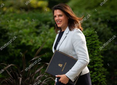 Caroline Nokes, Minister of State for Immigration, arrives for the weekly Cabinet meeting.
