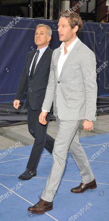 Christoph Waltz and James Norton