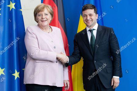 President of Ukraine Volodymyr Zelensky visit to Berlin