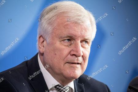 Walter Luebcke murder case press conference, Berlin