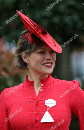 TV presenter Kate Silverton