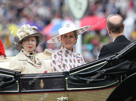 Princess Anne sits next to Sophie Countess of Wessex