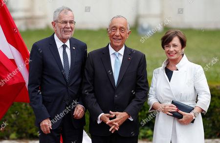 President of Austria Alexander van der Bellen visit to Lisbon