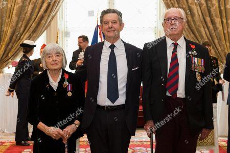 British veterans receive the French Legion of Honour, London
