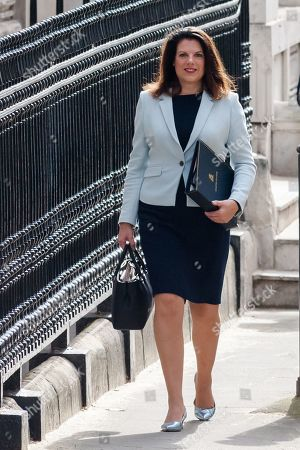 Minister of State for Immigration Caroline Nokes arrives for the weekly Cabinet meeting at 10 Downing Street in London.