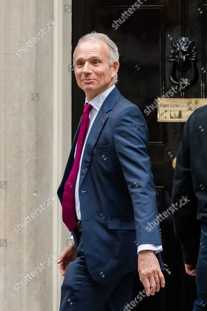 Chancellor of the Duchy of Lancaster and Minister for the Cabinet Office David Lidington arrives for the weekly Cabinet meeting at 10 Downing Street in London.