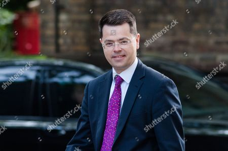 Secretary of State for Housing, Communities and Local Government James Brokenshire arrives for the weekly Cabinet meeting at 10 Downing Street in London.