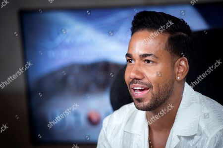 "Romeo Santos poses during an interview with Spanish news agency EFE on the occasion of his new album ""Utopia"", in Madrid, Spain, 18 June 2019. Santos is considered the king of the bachata music and is the executive director of the Roc Nation Latin full service entertainment division of Roc Nation, owned by Jay-Z."