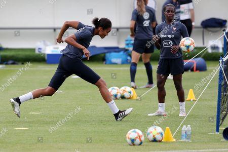 France Womens Football Team Camp, Stade la Cavee Verte, Le Havre