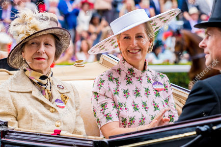 Princess Anne and Sophie Countess of Wessex